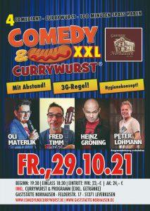 Comedy und Currywurst XXL @ Saal Norhausen